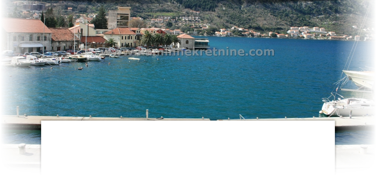 For sale apartment Kotor